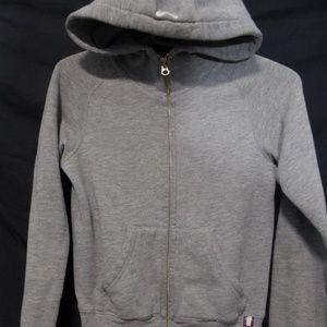 Aritzia TNA, xxs, gray zip sweatshirt hoodie